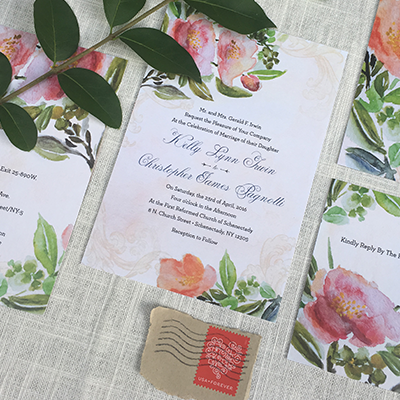 Kelly + Chris | Wedding Invitations