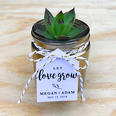 Megan + Adam | Wedding Favors