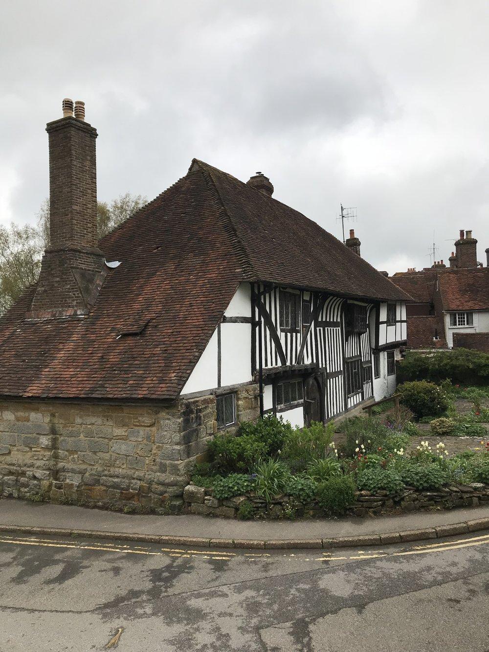 An old Tudor house in Battle