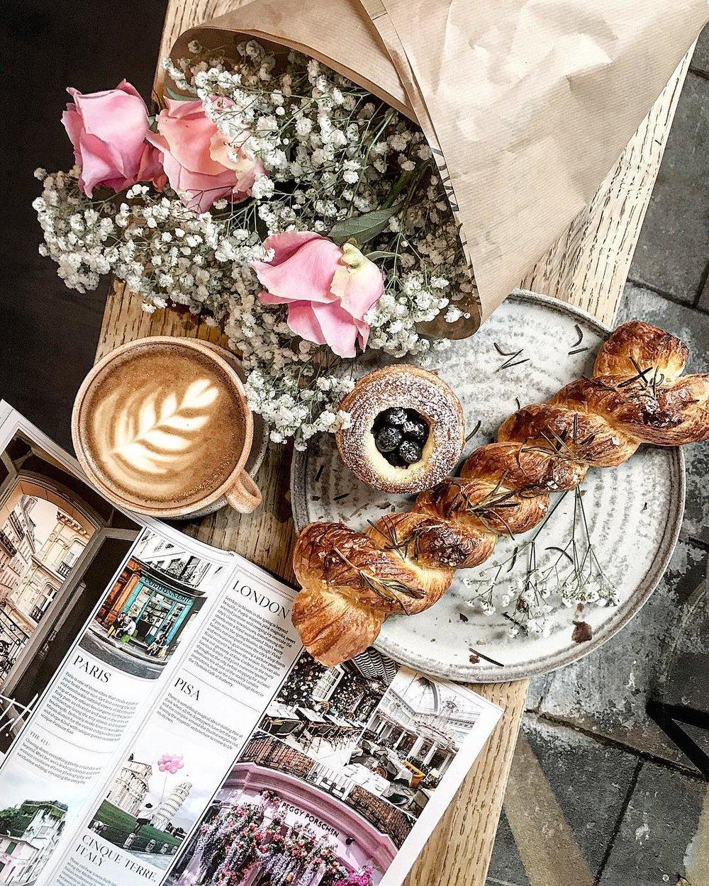 How I want my breakfast every morning!  Instagram - Bei Bei Wei