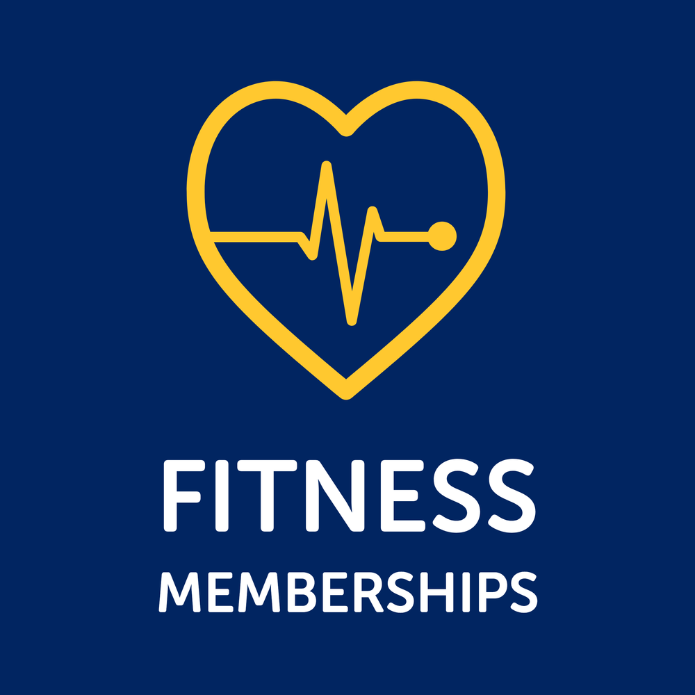 Button for Fitness Memberships.
