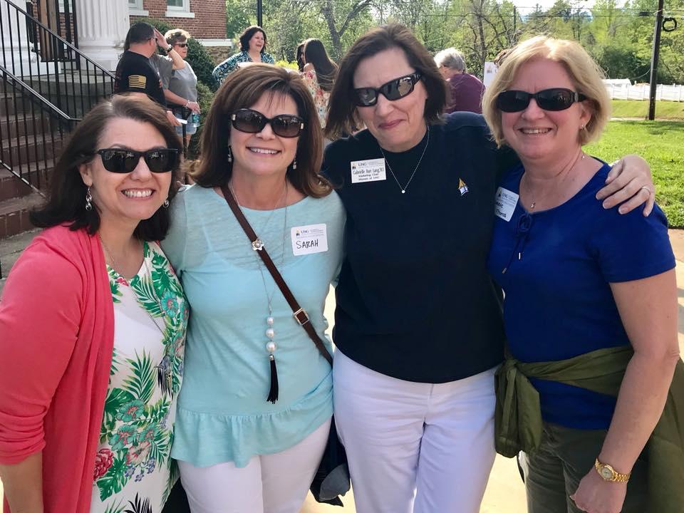 AW 2018 Mixer Nancy Dolph, Sarah Fabozzi, Gay Lang, Debbie Thomas.jpg