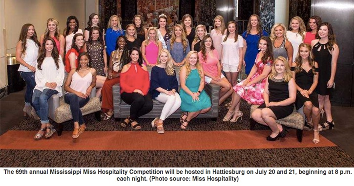 Hattiesburg to host 69th annual Miss Hospitality Competition