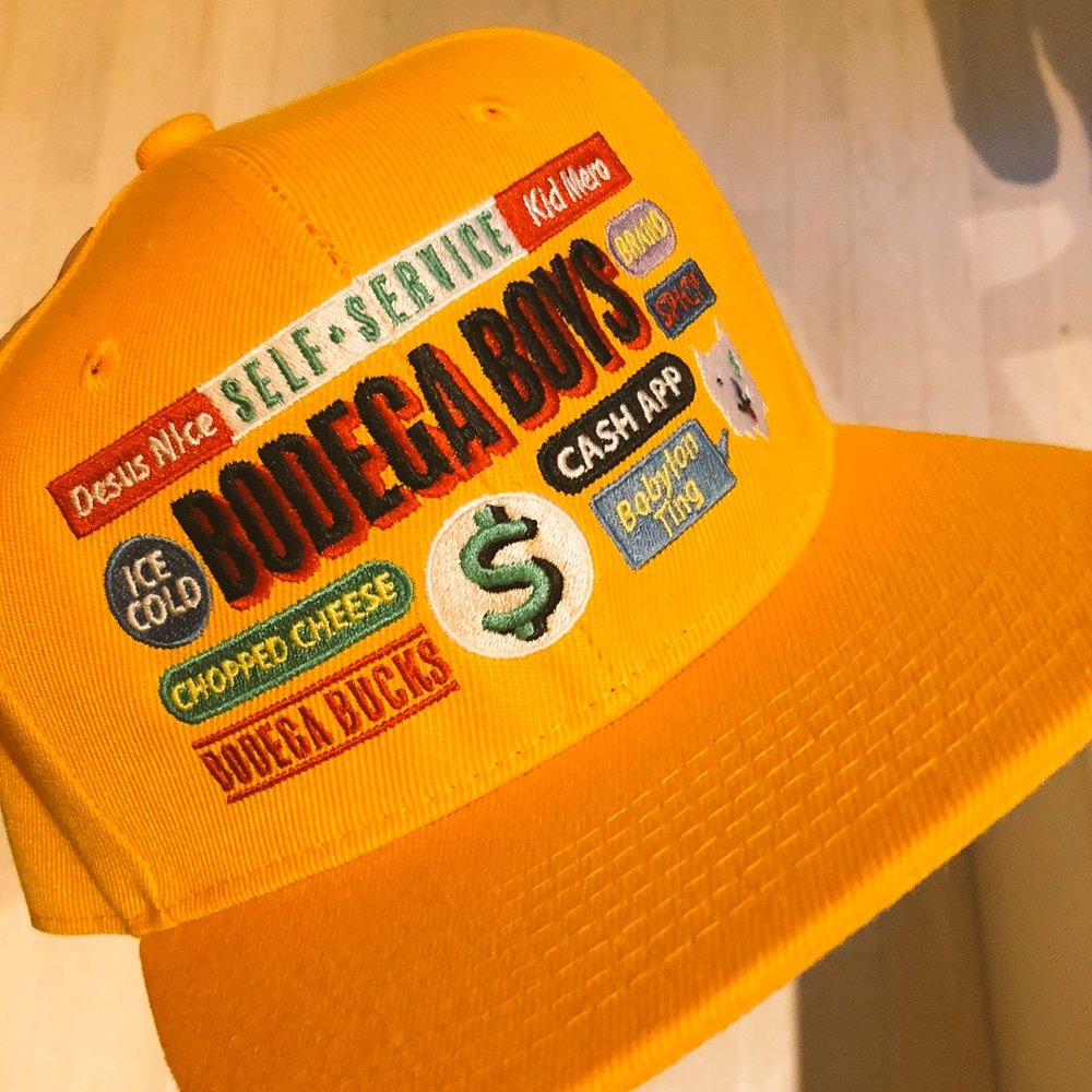 Bodega Boys Snapback -  7 Color Thread Embroidery