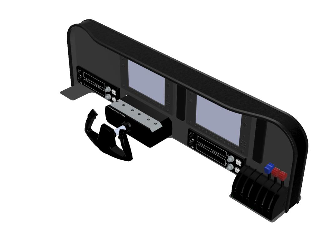 Model 1 w/ Additional Audio Panel