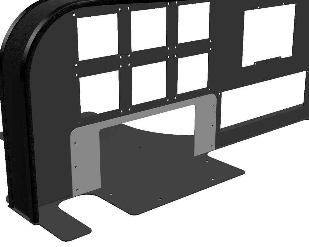 CAD - CLS-E Yoke Trim Plate