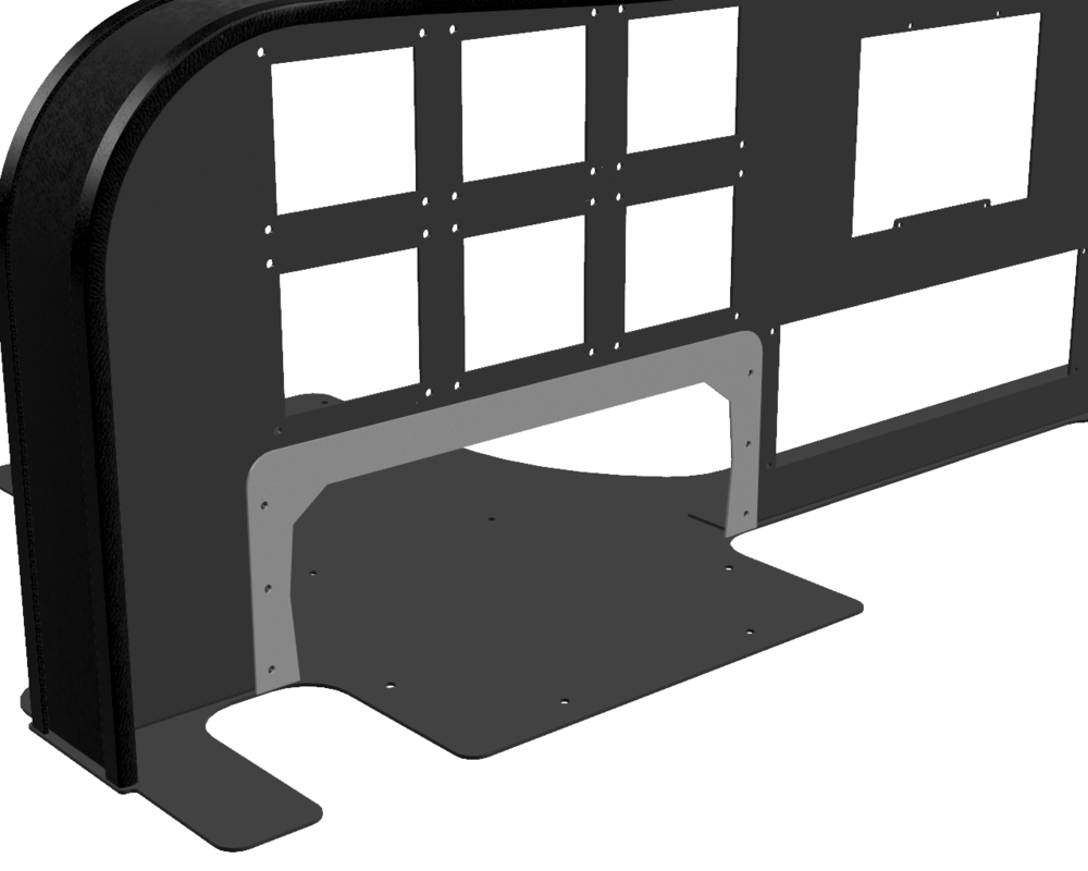 CAD - Pro Flight Yoke Trim Plate