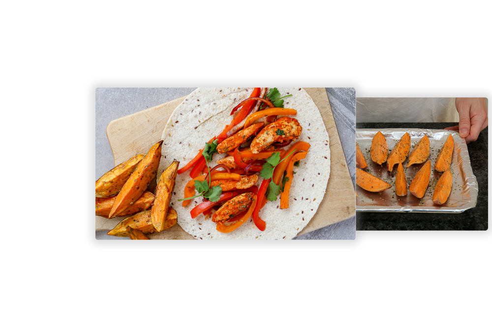 Interactive and engaging - Get stuck into our recipes or upload your own. Add step by step photos to help guide your students through the recipes.