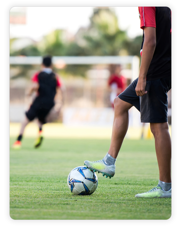 Sports Teams and Academies - Deliver professional nutrition education programmes across your team or academy. Give your players access to their personal nutrition hub.