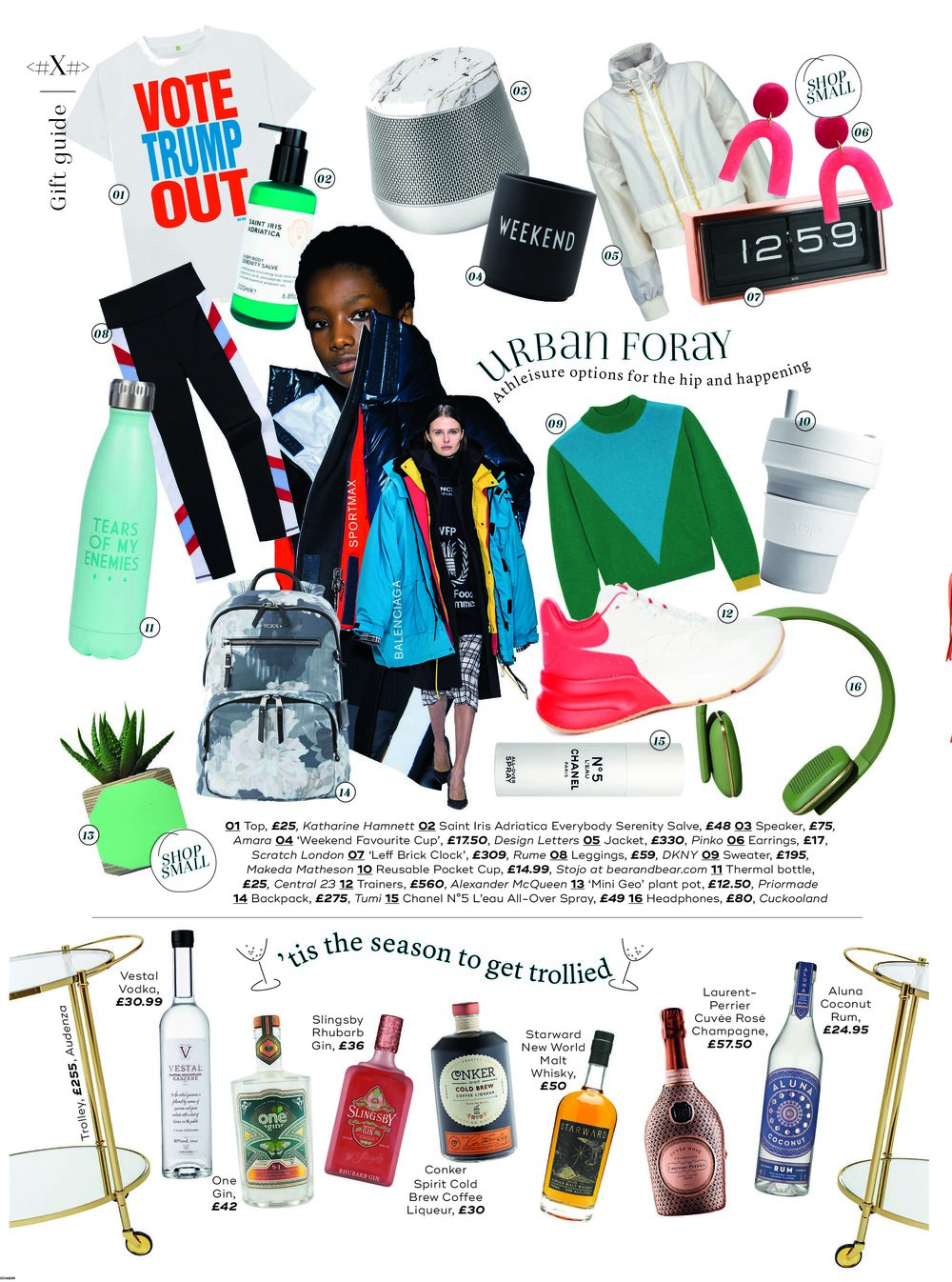 MARIE CLAIRE MAGAZINE - DECEMBER 2018 GIFT GUIDE
