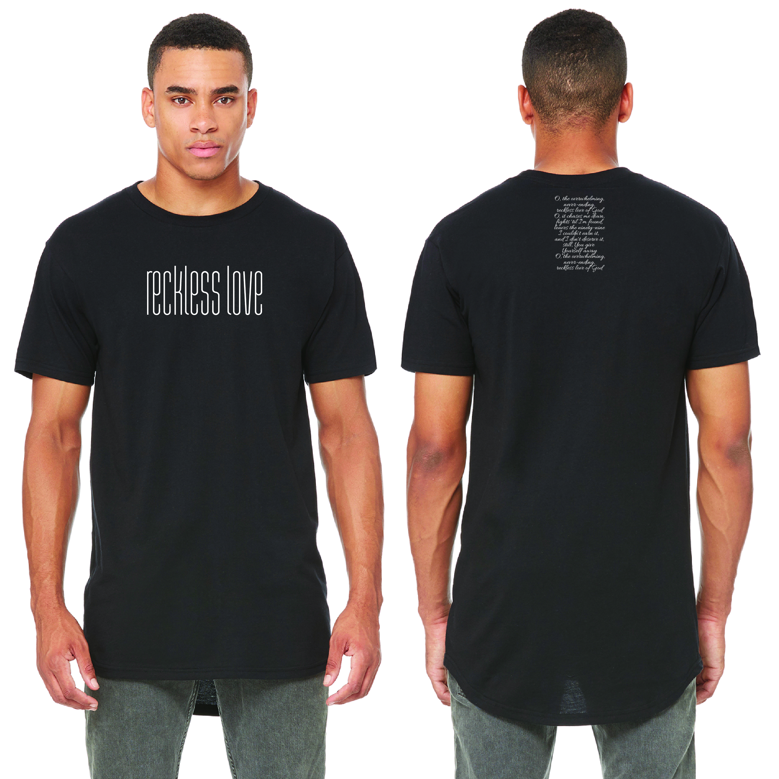 1754c8691 Reckless Love S/S Urban Tee — LEVEL SEVEN GRAPHICS, LLC.