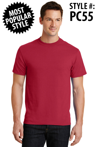 BASIC 50/50 TEE - [CLICK HERE FOR MORE COLORS AND INFO]