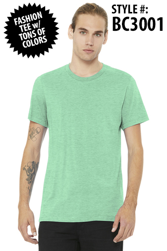 SOFT FASHION UNISEX TEE - [CLICK HERE FOR MORE COLORS AND INFO]