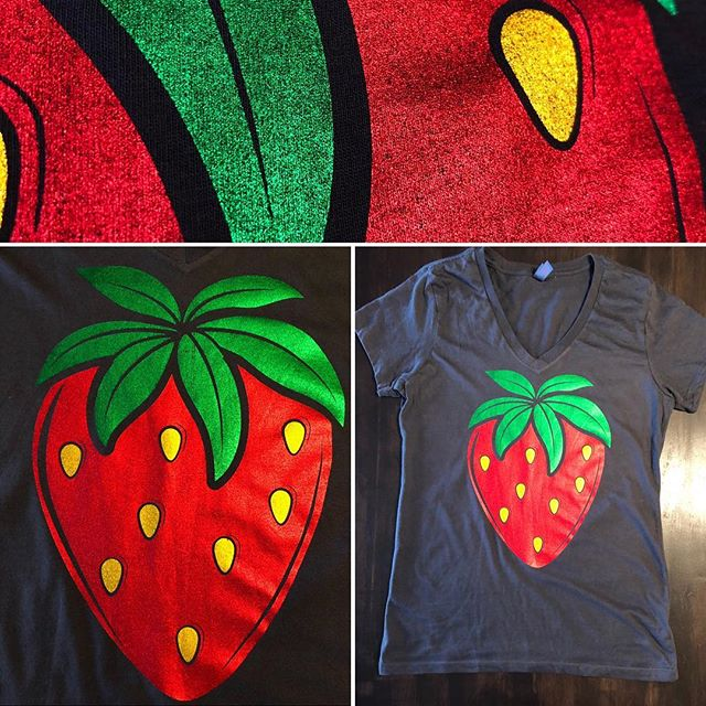 STRAWBERRY SHIRTS ARE HERE!!!! Time get your strawberry season swag with one of our latest berry designs. (Gold, Red, and Green Metallic Foils) (813) 763-6476 * PLEASE SHARE THIS POST WITH YOUR FRIENDS AND FAMILY.  #plantcity #plantcityfl #strawberry #strawberryfestival #strawberrytshirt #flstrawberryfestival #flstrawberryfestival2019 @igersplantcity