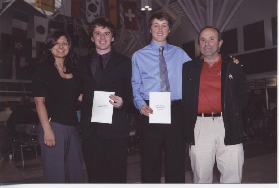 2011 Bobby Mahnger Scholarship Recipients