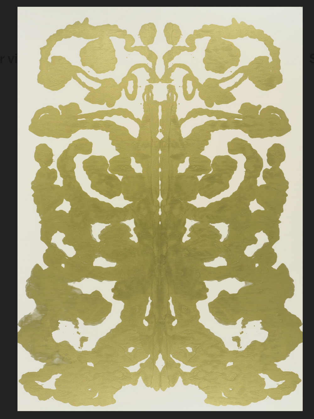 Rorschach  by Andy Warhol, 1984.
