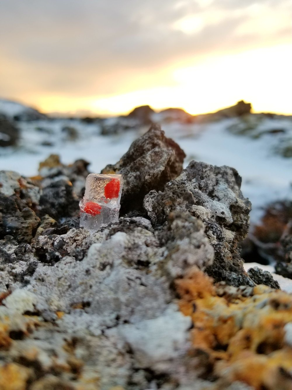 First attempt saved by trial and error, contemplation, experimentation and the incredible arctic light of the autumn sun in Iceland, Nov 2017. Lava rocks and lichen certainly didn't hurt.