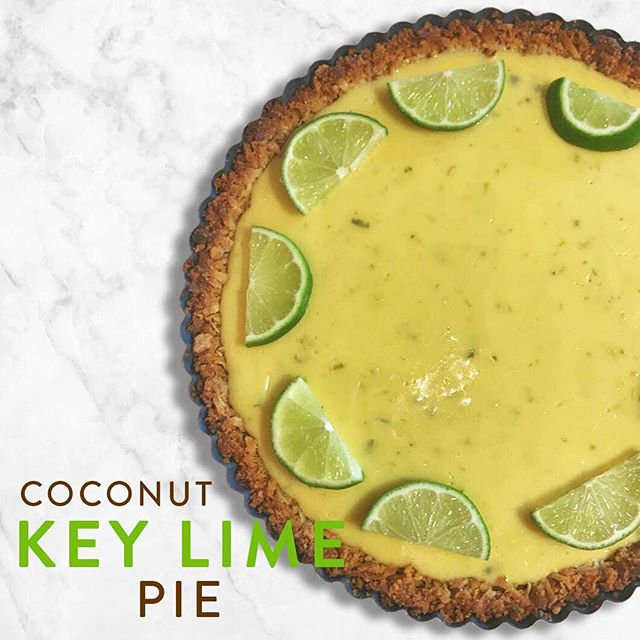 "Put the lime in the coconut and bring this pie to your Father's Day get-together! No promises, but I'd count on winning ""Best Child"" award with this bad boy. Incredibly easy and quick to put together but it tastes like a million bucks. Check it out the recipe on neatletseat.com!  #keylimepie #whichlimesarekey #putthelimeinthecoconut #coconut #coconutkeylime #handmadecrust #fathersdaytreat #happyfathersday #brightfood #colorfulfood #limegreen #summereats #dessertfood #limes #pieislife #tartpan #favoritechild #fruittartfriday"