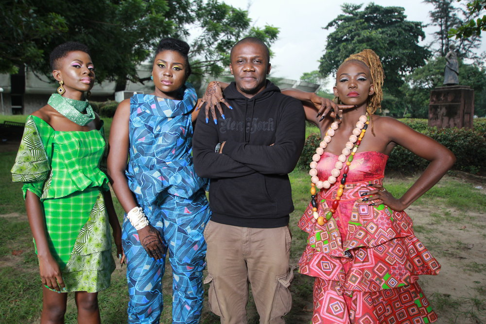 C.J. 'Fiery' Obasi and the cast of Mami Wata - Courtesy of C.J. 'Fiery' Obasi.JPG