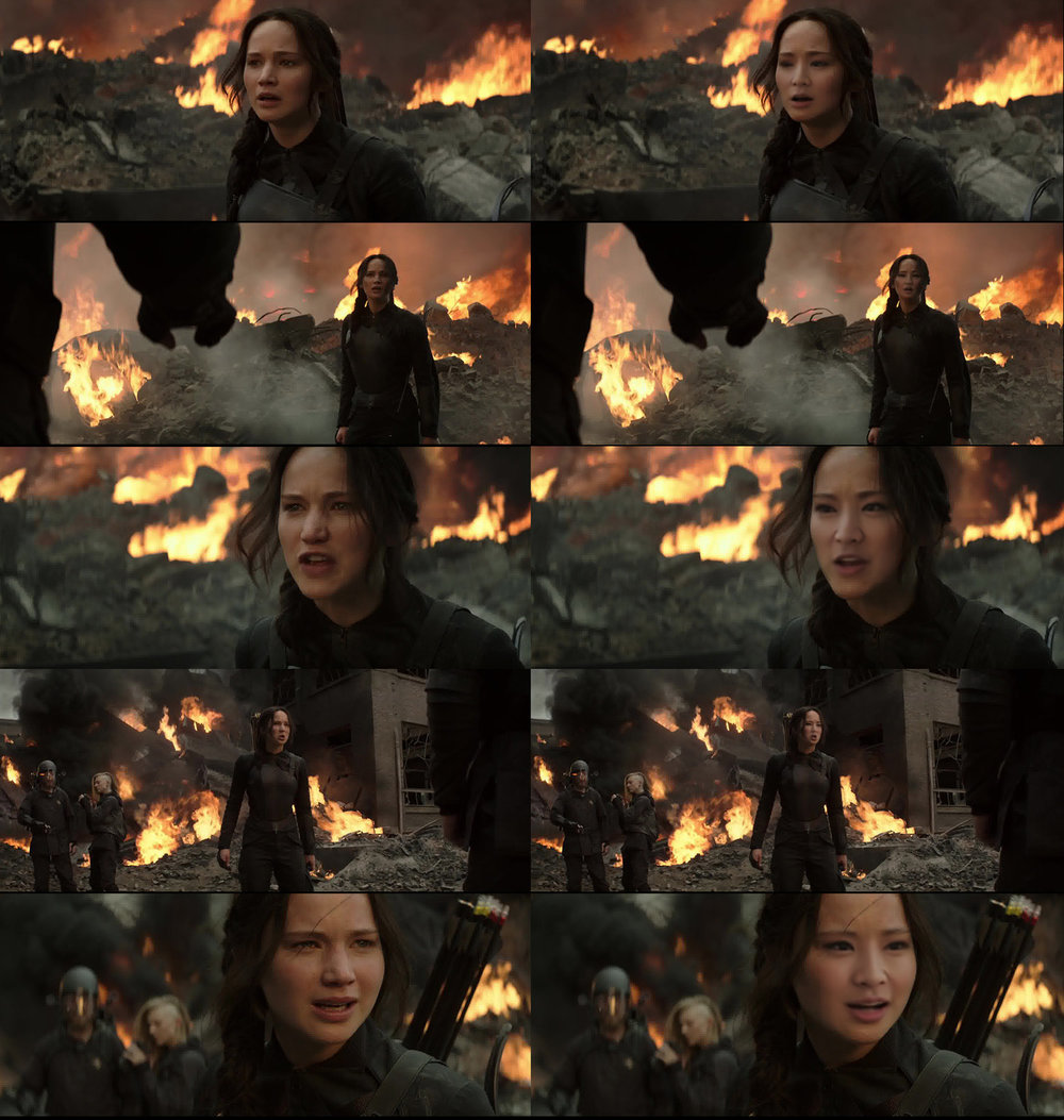 Arden Cho cast in the Hunger Games. Courtesy of William Yu.