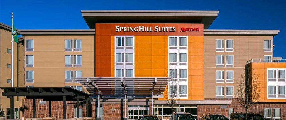Mariott SpringHill Suites Bellingham   4040 Northwest Avenue,Bellingham, WA, 98226, USA  360-714-9600   Info.blish@springhillbellingham.com   Bellingham's SpringHill Suites by Marriott is a hotel that can really boast space and style at an affordable price. Conveniently located near Bellingham Airport, with roomy guest suites that blend style and function signature to Marriott Hotels.Luxurious bedding, a microwave, mini-fridge, work desk, free high-speed Internet access, and a spa-like bathroom will ensure your stay is anything but ordinary. Our complimentary hot breakfast, pool, fitness center and free Wi-Fi in the hotel lobby help you stay refreshed and connected outside of your room, giving you the freedom to set your own pace and work or relax your way.