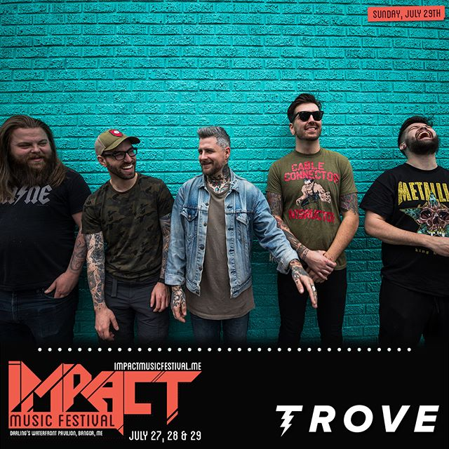Pleased to announce we are back at it up in Bangor Maine for his banger of a fest. We play Sunday with our teenage dream line up and some rowdy friends ⚡️ come riff early with the boys! 🎟- Ticketmaster.com SWIPE FOR INFO #impactmusicfestival