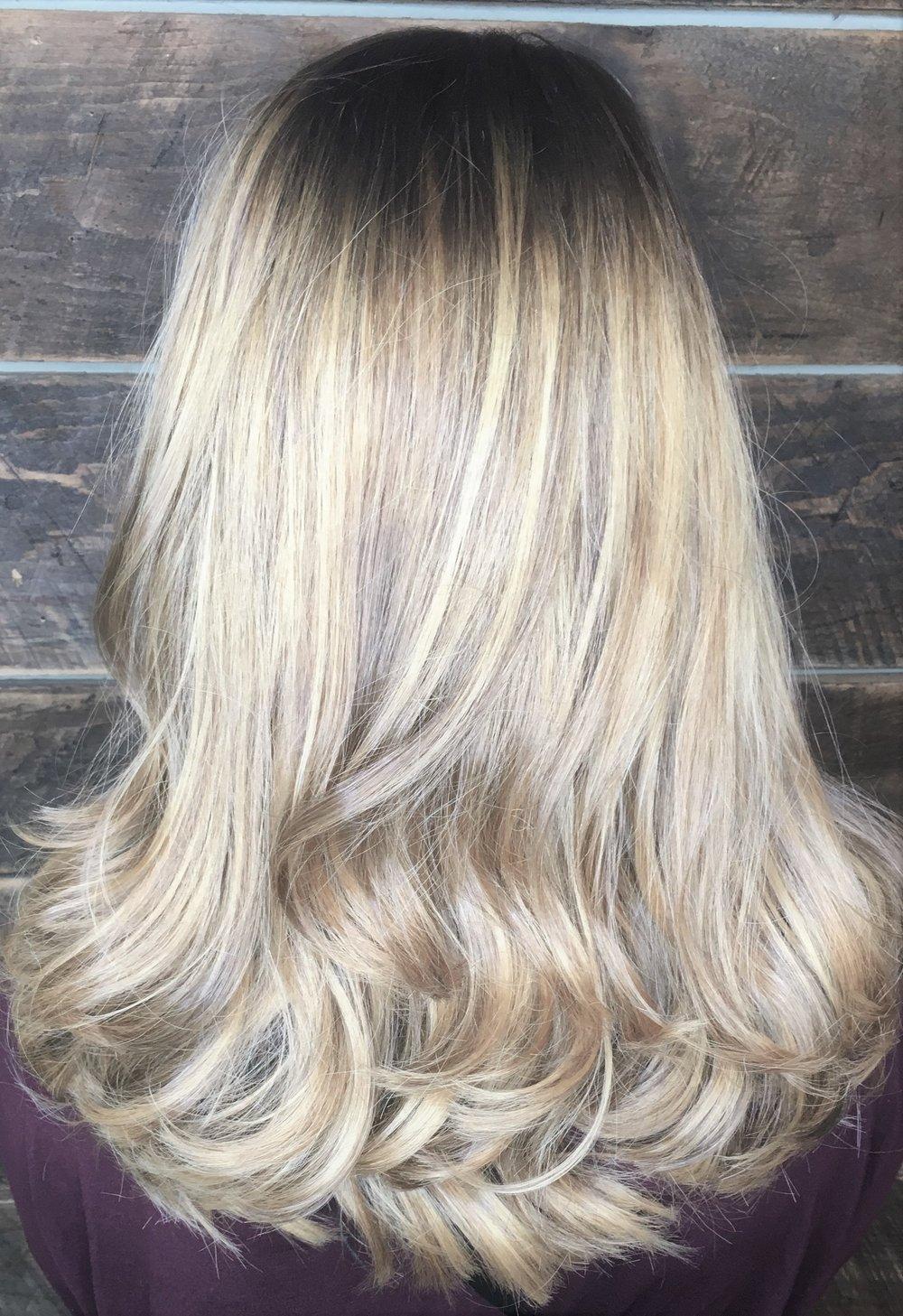 Gorgeous Dimensional Balayage  Hair By: Monica P Watkins Hair Babe Studio