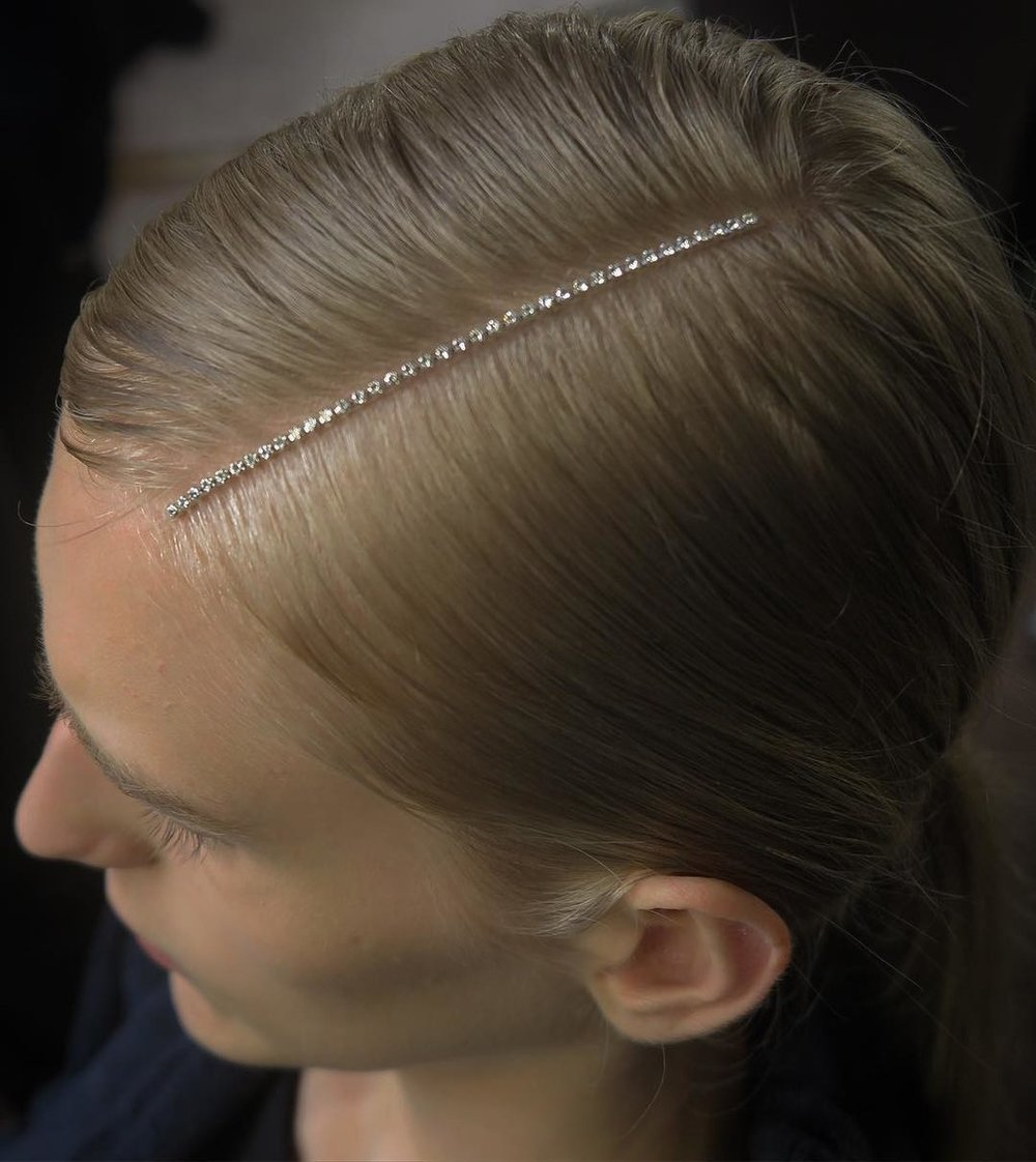 PHOTO: PHOTO COURTESY OF INSTAGRAM @SAMMCKNIGHT1; HAIR BY SAM MCKNIGHT  The DIY But Expensive Parts at Dries Van Noten