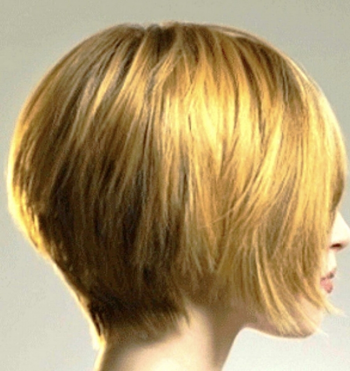 Dimensional Color Amber & Copper with Stacked Hair Cut  Hairbabestudio.com  Hair Salons, Asheville NC