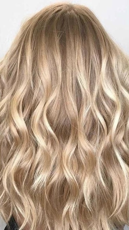 Creamy Golden Blonde Hair Color with Long Layered Hair Cut  Hairbabestudio.com  Top Asheville Hair Salons