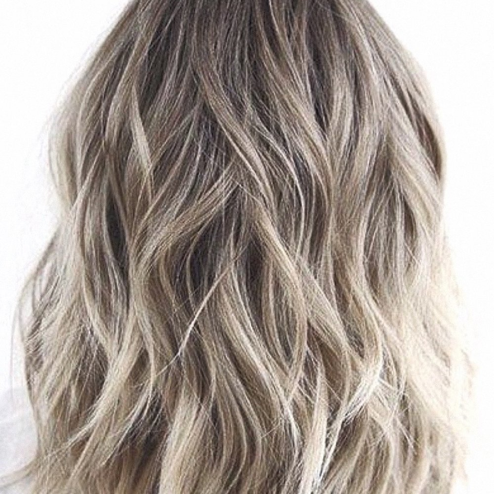Shadow Root with Blonde Balayage.  Hair Babe Studio, best hair salon Asheville