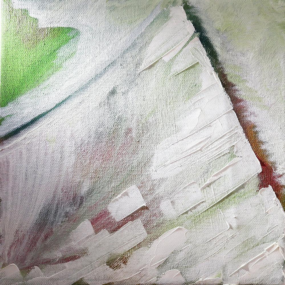 "2010 ""Sail Away"" - Jan Van Lingen 1'x 1' - Oil on Canvas $1000"