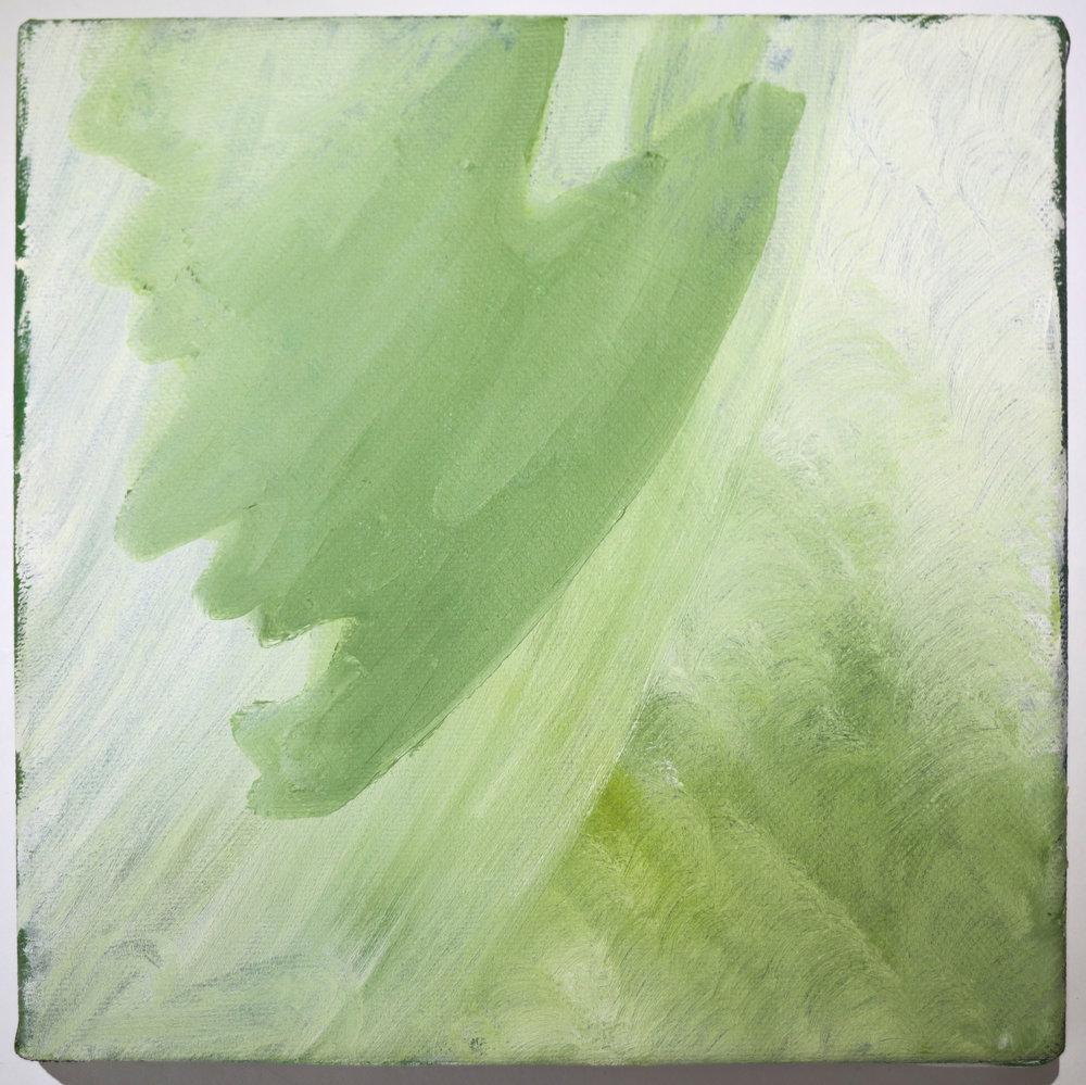 "2010 ""Meadow"" - Jan Van Lingen 8"" x 8"" - Oil on Canvas $300"