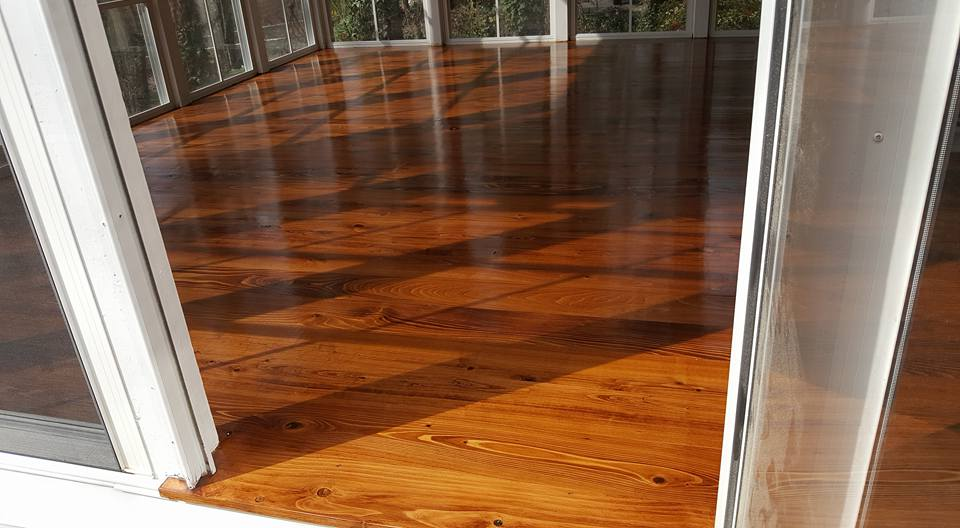 Laying or Refinishing Hardwood Floors - Refinishing or replacing hardwood floors can be a challenge, but we are the right folks for the job! Your hardwood floors will never look better!