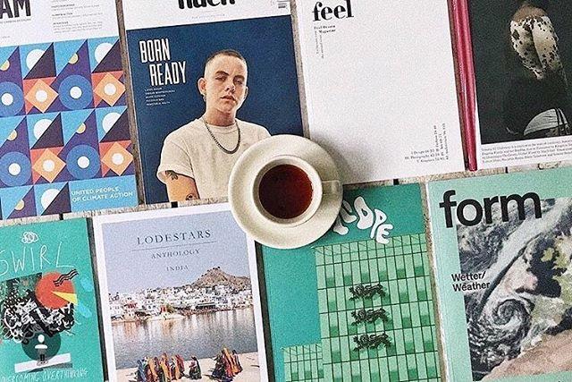 @coffeetablemags has us feeling some kind of way 📓📓📓 - - - #calliopemagazine #coffeetablemags #tallinn #hamburg #germany