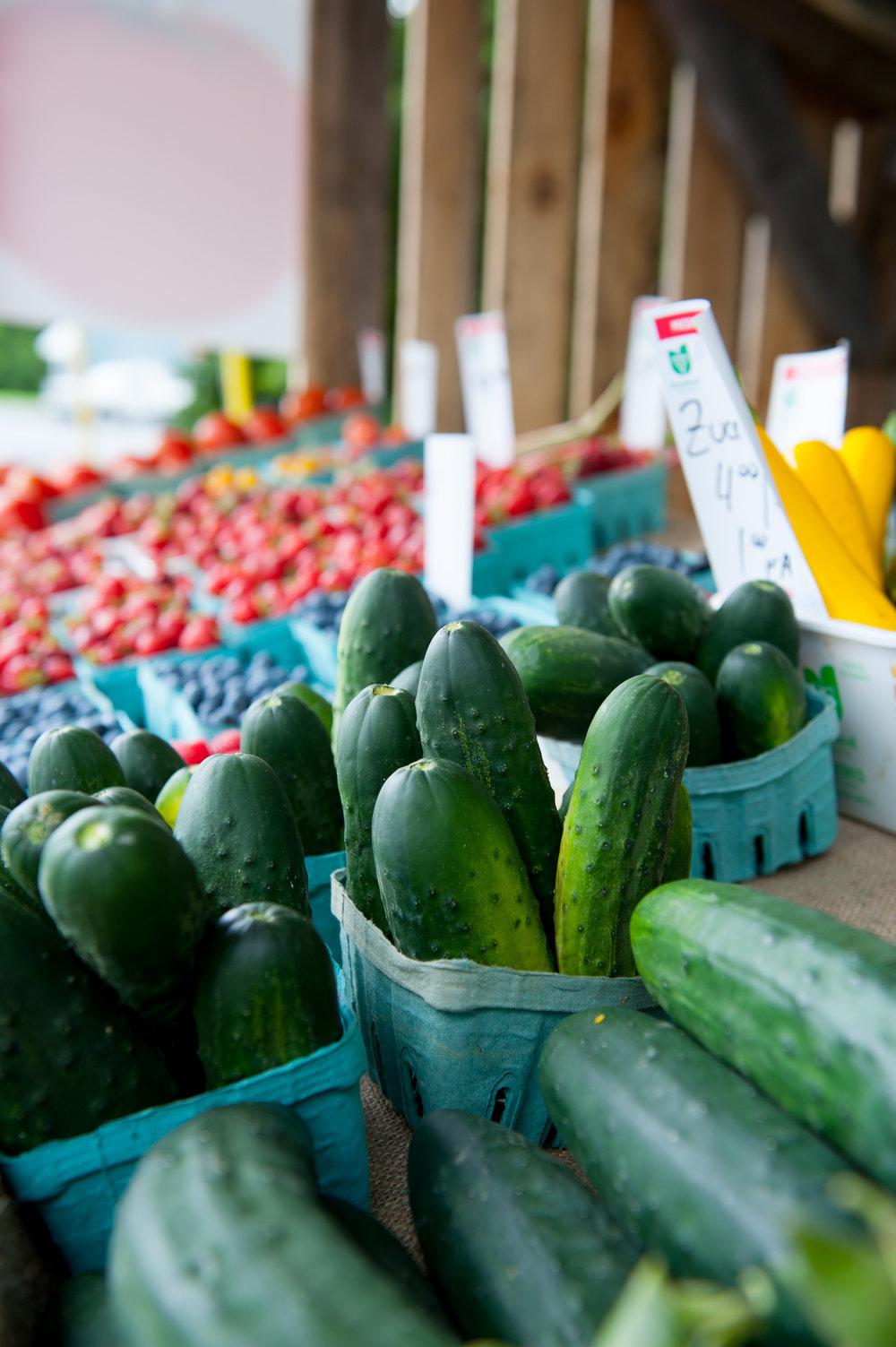FARMERS' MARKETS -