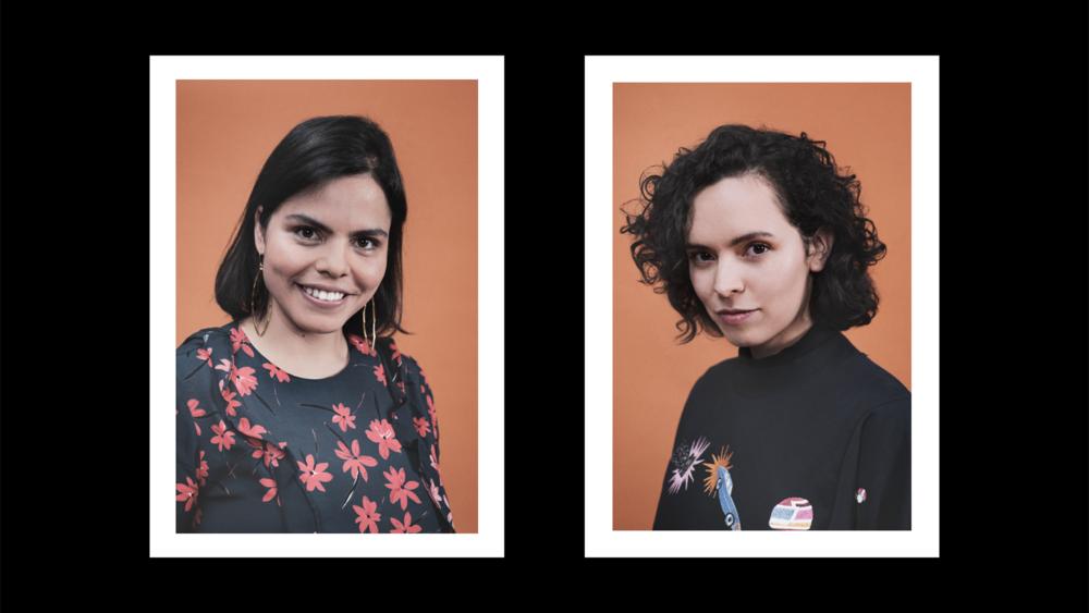 LAS FUNDADORAS Elina Corona & Anna Gómez