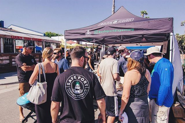 Such an awesome day at Surf Rodeo! It was so amazing meeting all of you that stopped by the booth. We will be back at it tomorrow, we can't wait to meet more of you! #805cannabiscommunity #safeportcannabis
