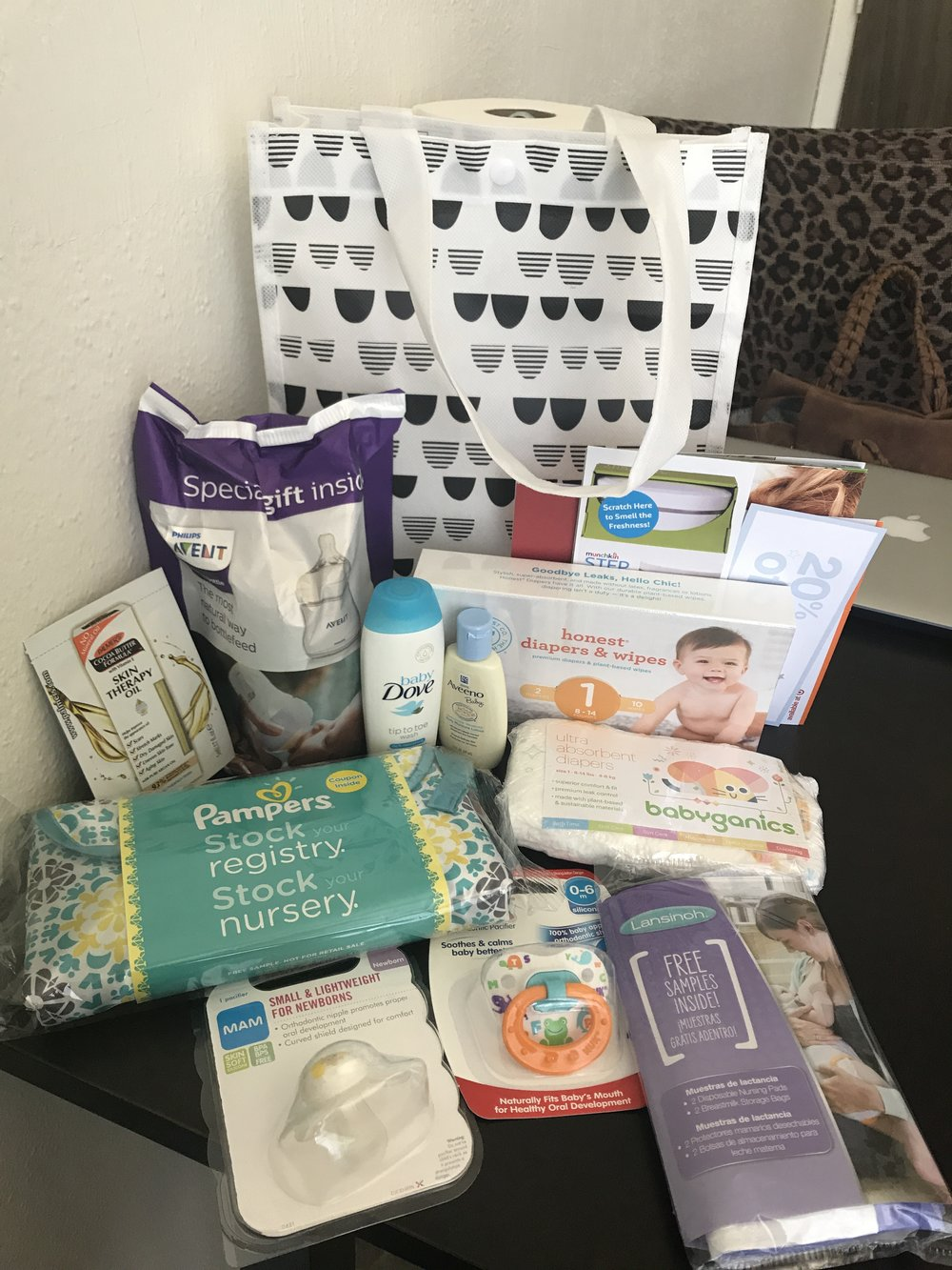 A few freebies and coupons I recieved from TARGET when I created my registry!