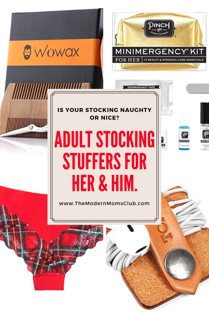Adult Stocking Stuffers for Her & Him #stockingstuffers #hisandherchristmas #christmas