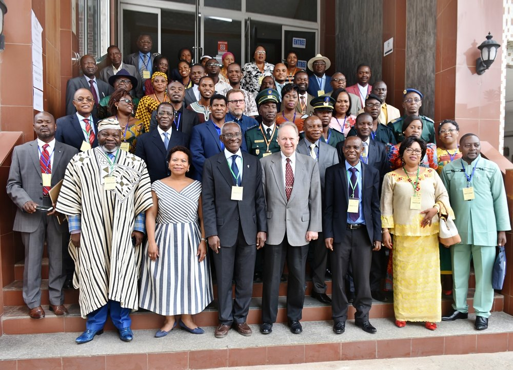 Delegates at the Francophone West Africa Regional FLAG conference in February, 2018