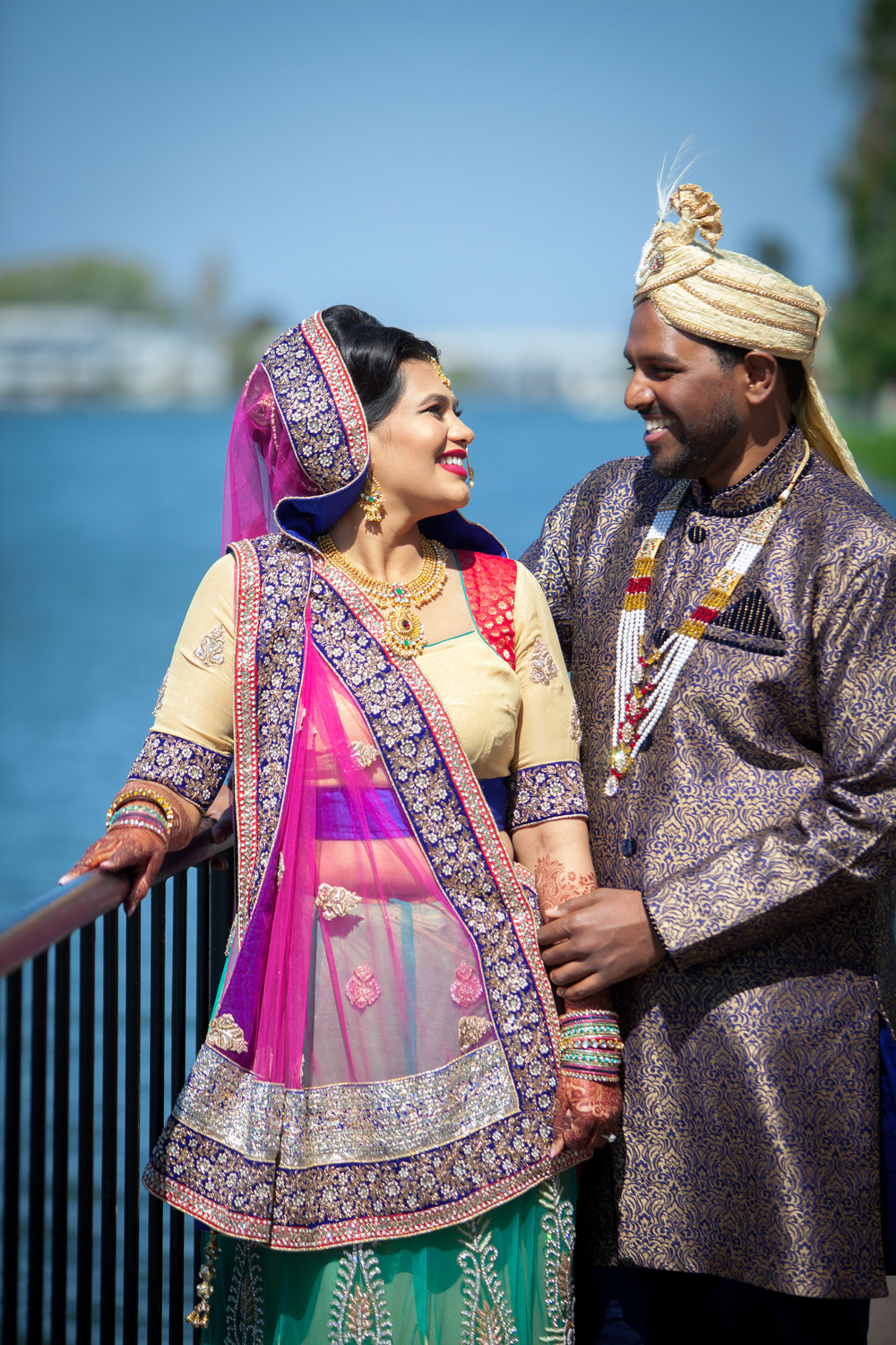 """Swati & Prean - """"Minoti was absolutely fantastic! She coordinated our wedding and sangeet, and we could not have been happier. She completely absorbed all the stress of coordinating all the vendors for both events. She assisted and provided valuable input in almost every decision made. Most importantly, we felt that she strongly protected our interest when dealing with all vendors."""""""