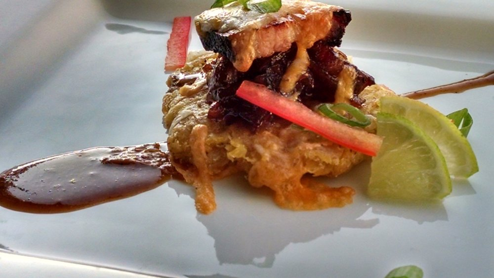 Photo courtesy of MIC Food®Recipe courtesy of Michael Staie- Corporate Chef, Sysco Southeast LLC  (Use of TIO JORGE® Hawaiian Tostones)