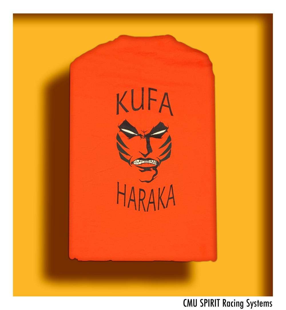Kufa Haraka Shirt Back