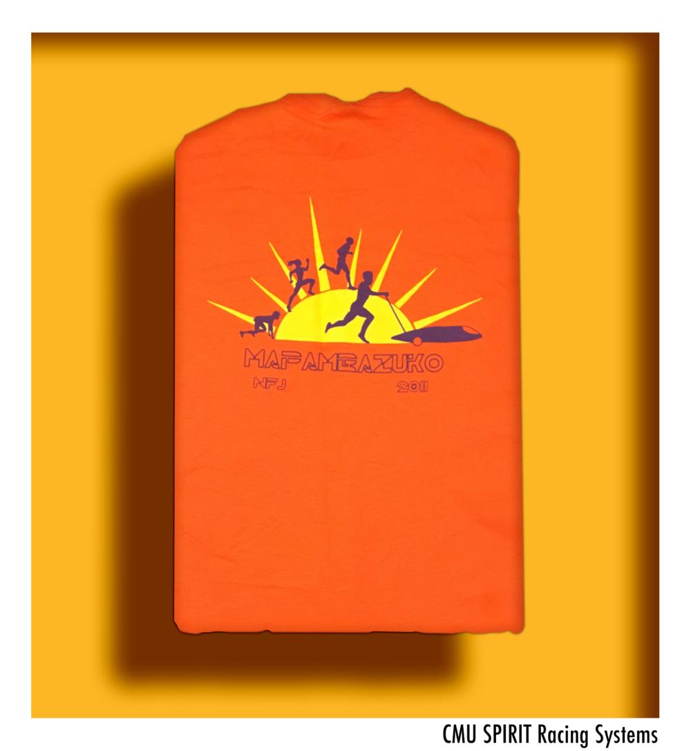 2011 Shirt Back