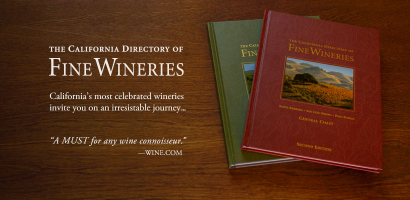 CA Directory of Fine Wineries Introduction Book