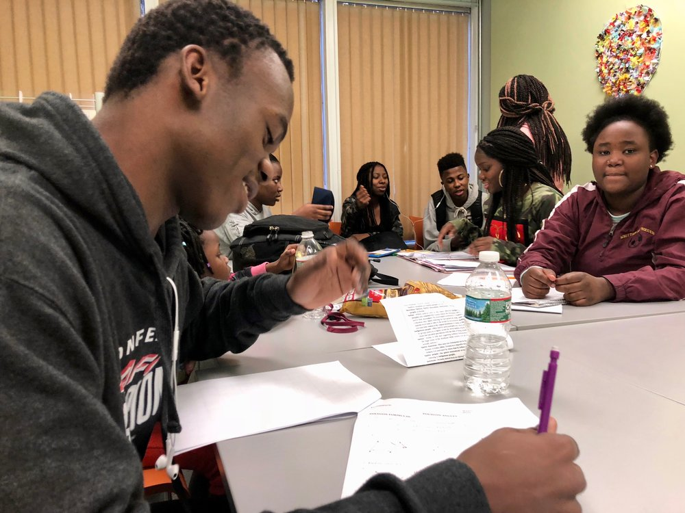 "The ""Homework Club"" helps students of immigrant and refugee families with homework and English after school, and supports parent-teacher communication. The program is run in partnership with NFI Family Resource Center of Greater Lowell."