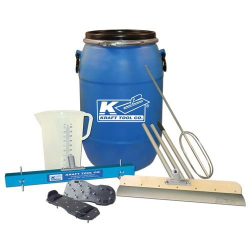 Self leveling kit - Self leveling mixing and installation kit