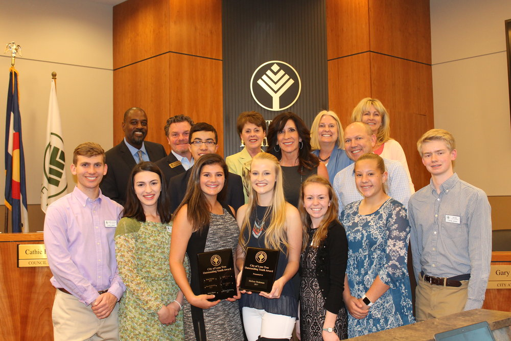 Accepting Applications Outstanding Youth Of Lone Tree Award