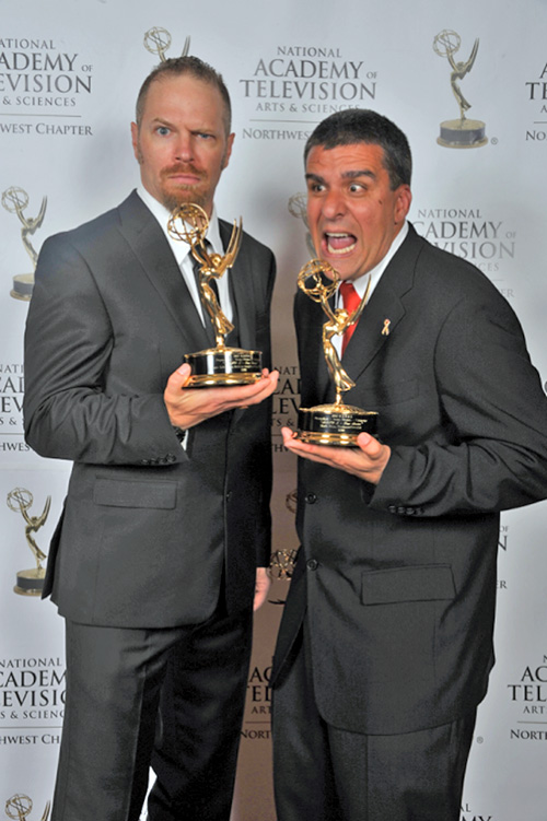 3 time Emmy Award winner for King 5 Television promotional campaigns